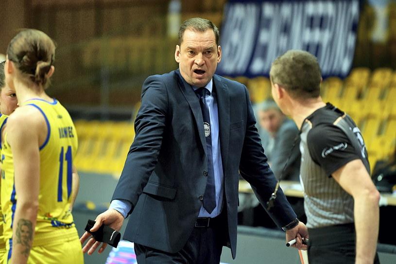 Trener VBW Arki Gdynia Gundars Vetra /PAP/Adam Warżawa    /PAP