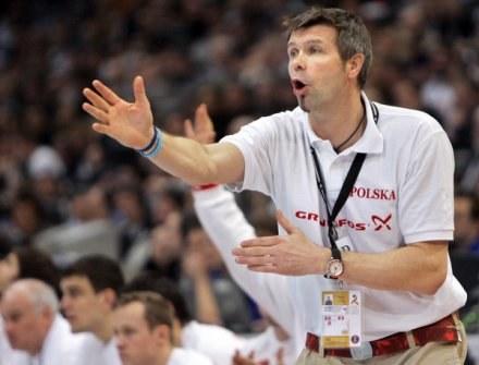 Trener Vive Kielce i kadry narodowej - Bogdan Wenta /AFP