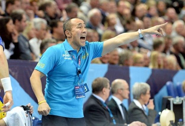 Trener Vive Tałant Dujszebajew /AFP