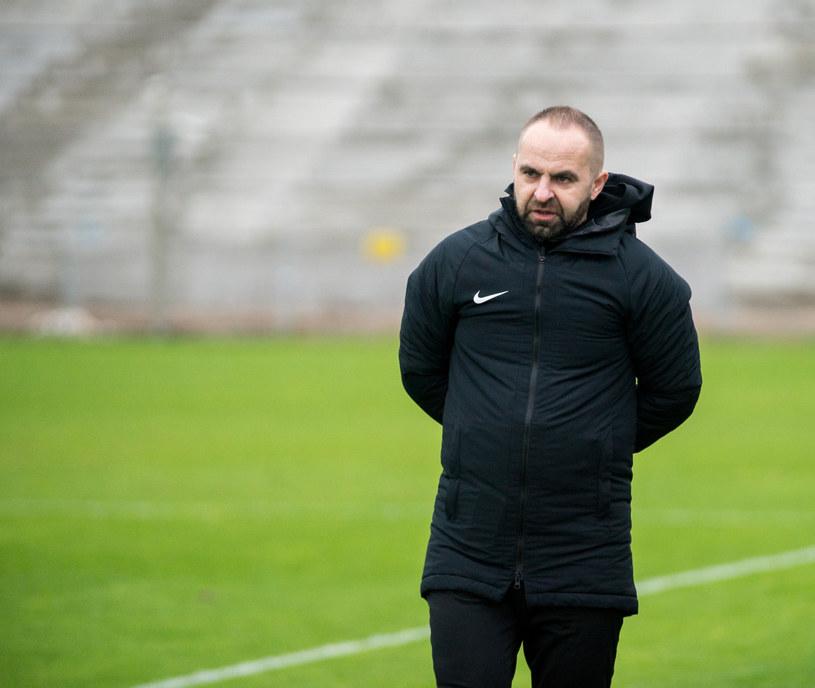 Trener Warty Piotr Tworek /Marek Szandurski /East News