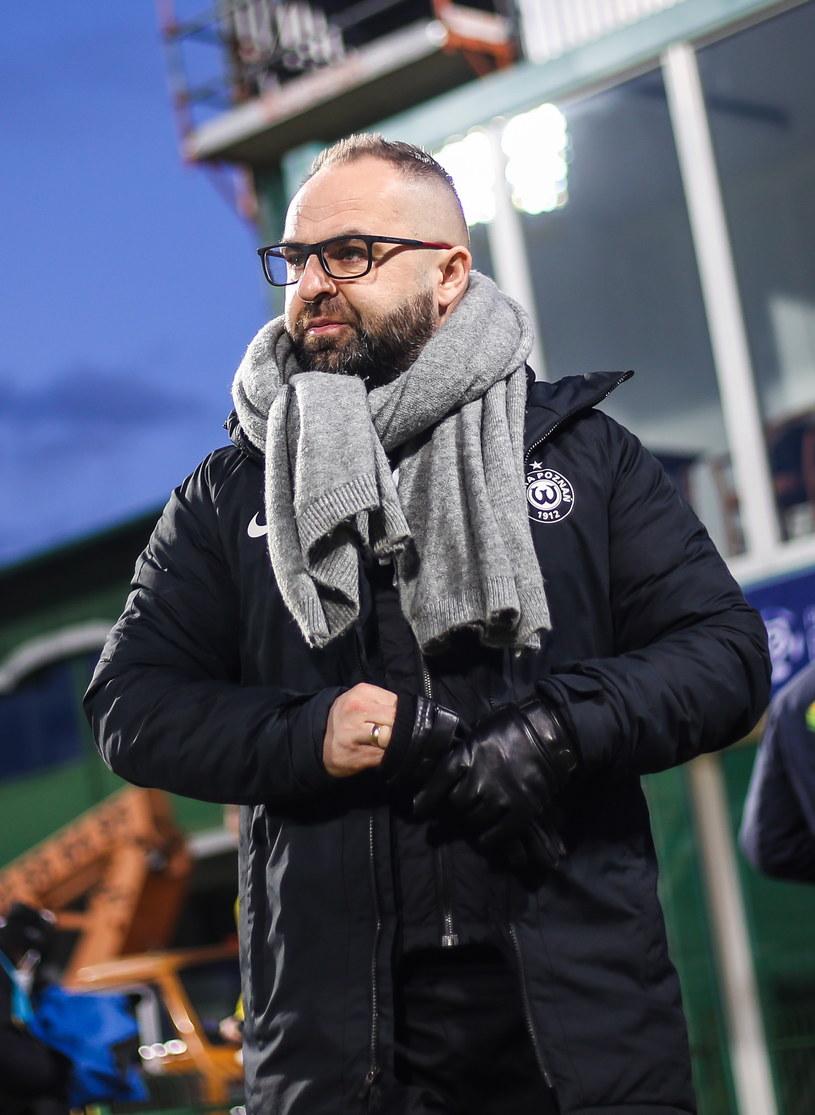 Trener Warty Poznań Piotr Tworek /Adam Jastrzębowski /Newspix