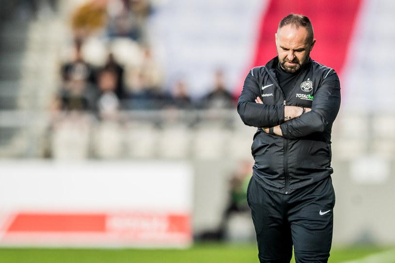 Trener Warty Poznań Piotr Tworek /Jakub Gruca  /Newspix
