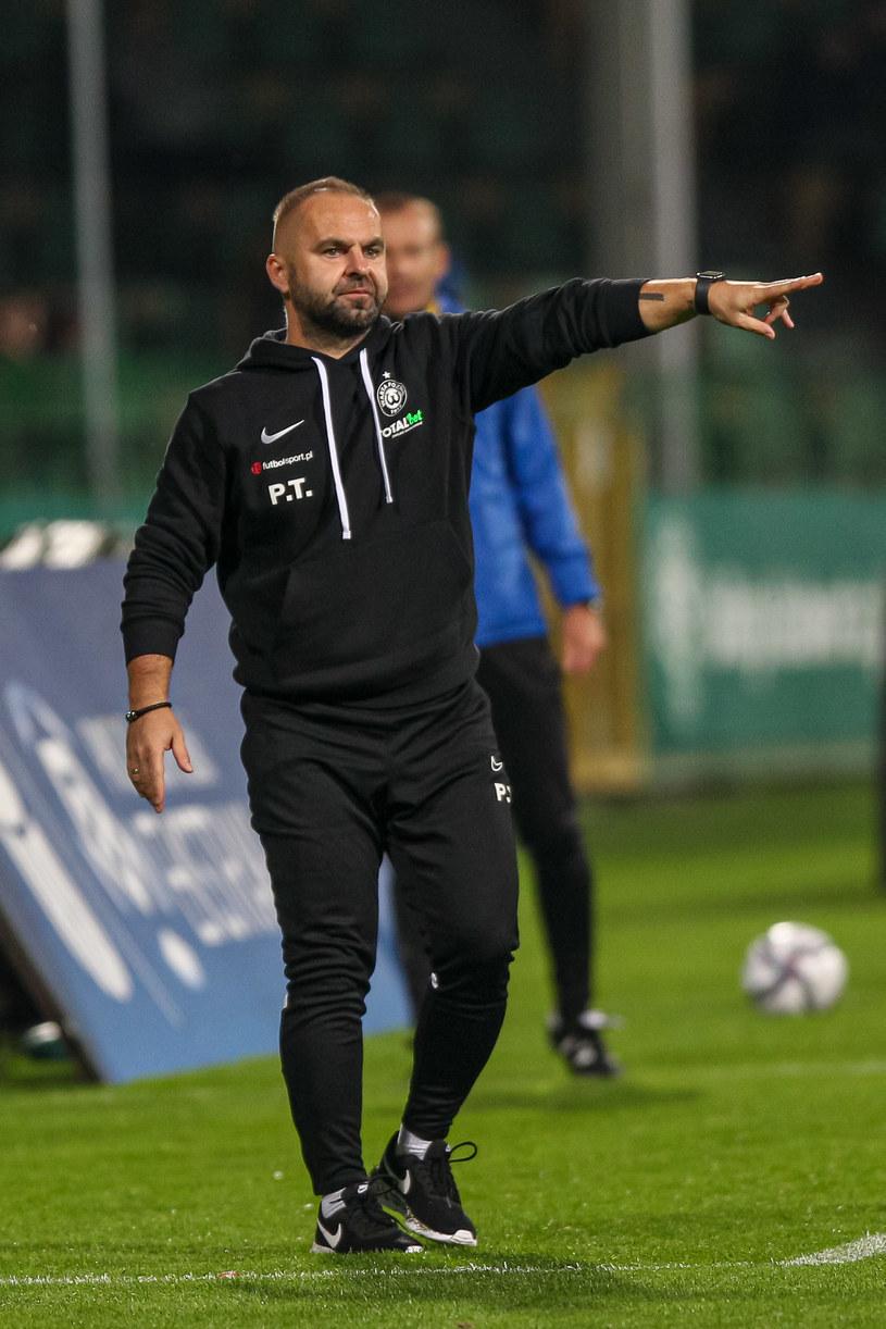 Trener Warty Poznań Piotr Tworek /Paweł Jaskółka /Newspix