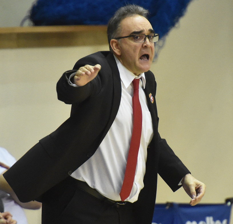 Trener Wisły Can-Pack Kraków Jose Ignacio Hernandez /PAP