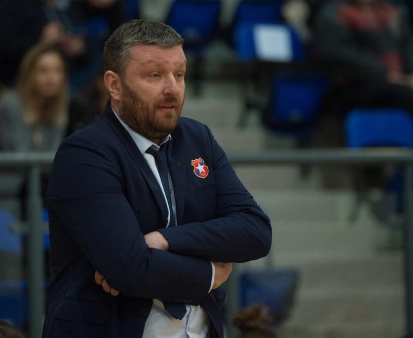 Trener Wisły CanPack Kraków Krzysztof Szewczyk / Grzegorz Michałowski    /PAP