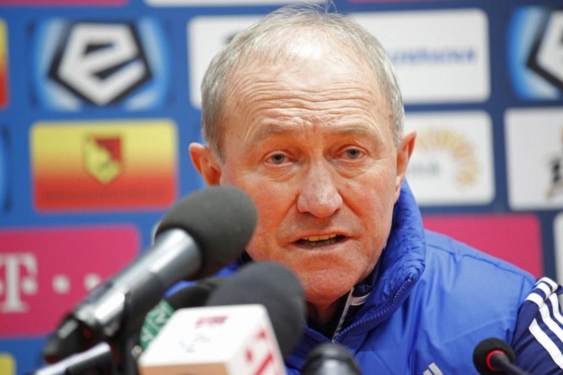 Trener Wisły Kraków Franciszek Smuda /Fot. Artur Reszko /PAP