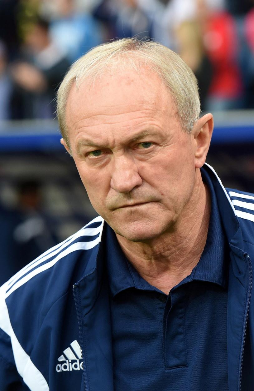 Trener Wisły Kraków Franciszek Smuda /fot. Jacek Bednarczyk /PAP