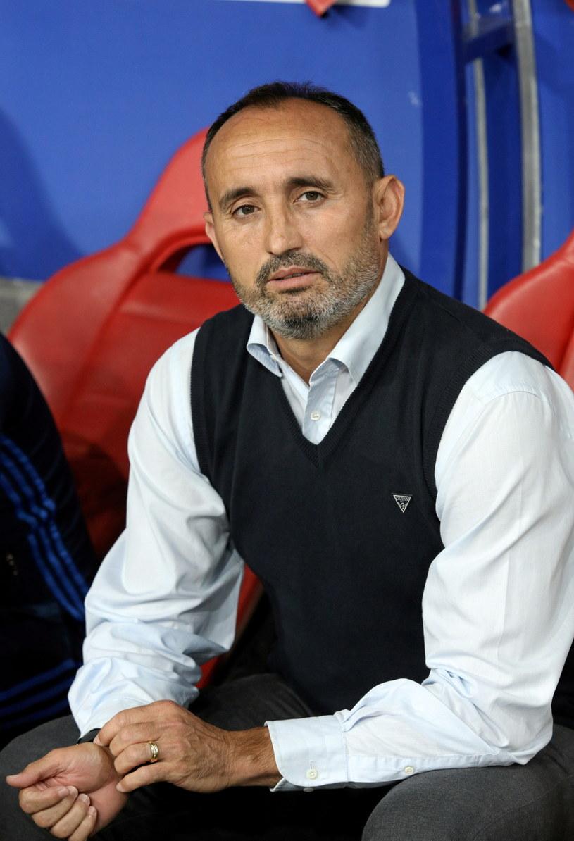 Trener Wisły Kraków Kiko Ramirez /Stanisław Rozpędzik /PAP