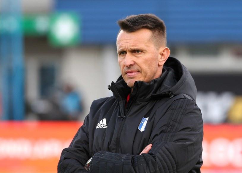 Trener Wisły Płock Leszek Ojrzyński /Piotr Augustyniak /PAP