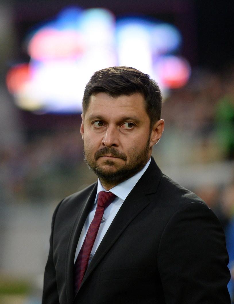 Trener Wisły Płock Marcin Kaczmarek /Fot. Piotr Polak /PAP