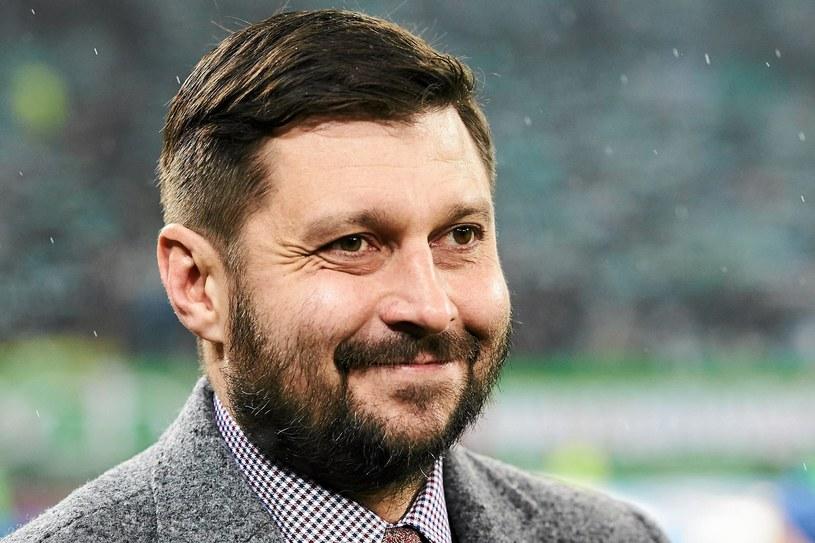 Trener Wisły Płock Marcin Kaczmarek /Fot. Jan Rusek /