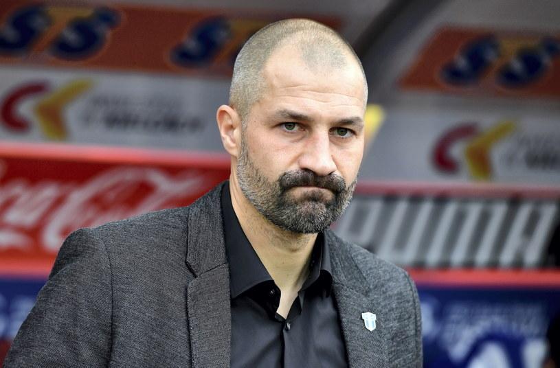 Trener Wisły Płock Radosław Sobolewski / Piotr Polak    /PAP
