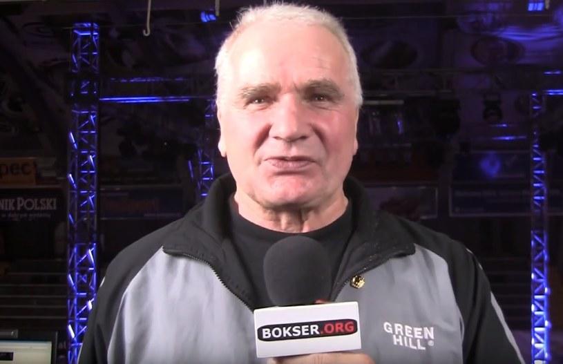 Trener Władysław Ćwierz prowadził Artura Szpilkę w Górniku Wieliczka /bokser.org