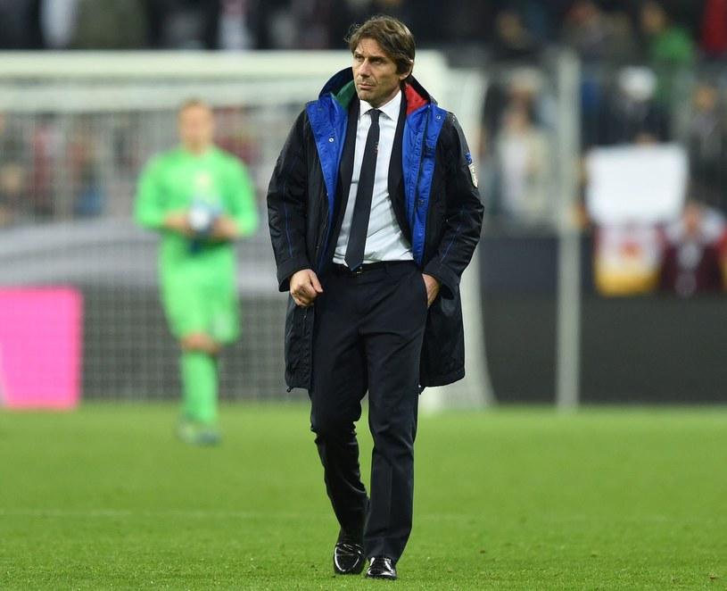 Trener Włochów Antonio Conte /AFP