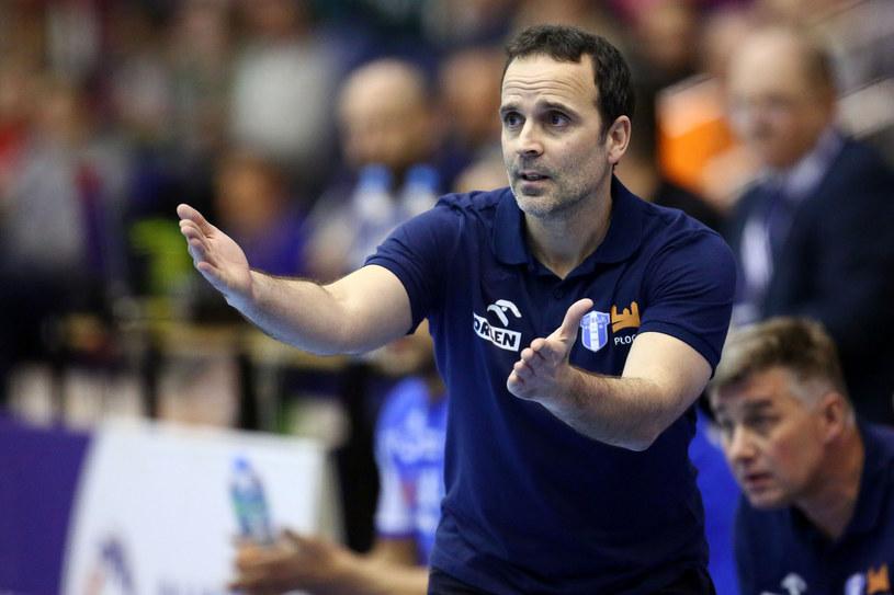 Trener Xavi Sabate /Piotr Matusewicz /East News