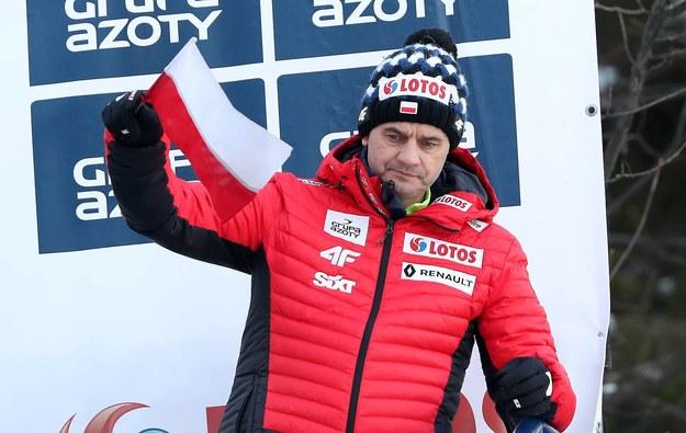 Trener z polskimi skoczkami osiągnął duże sukcesy / Grzegorz Momot    /PAP