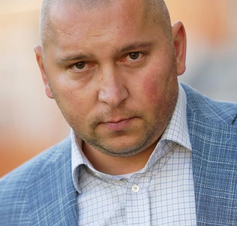 Trener Zagłębia Lubin Mariusz Lewandowski /Jan Karwowski /PAP