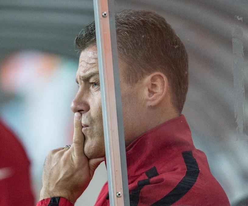 Trener Zagłębia Lubin Pavel Hapal /Fot. Maciej Kulczyński /PAP