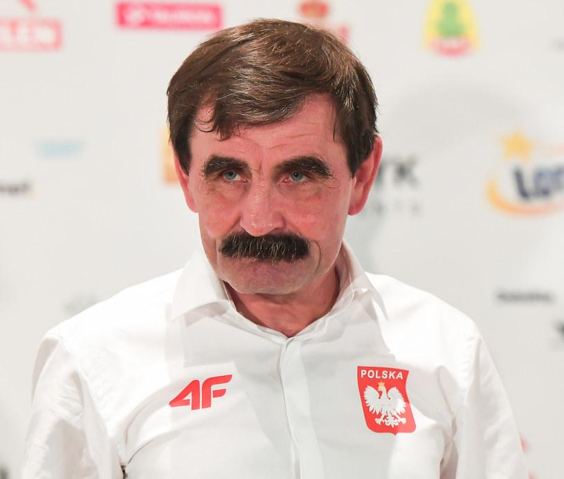 Trener Zbigniew Raubo /Fot. Marek Biczyk /Newspix