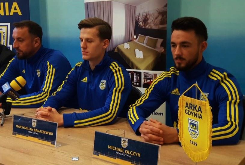 Trener Zbigniew Smółka jest zadowolony z transferów Maksymiliana Banaszewskiego i Michaela Olczyka. /Łukasz Razowski /INTERIA.PL