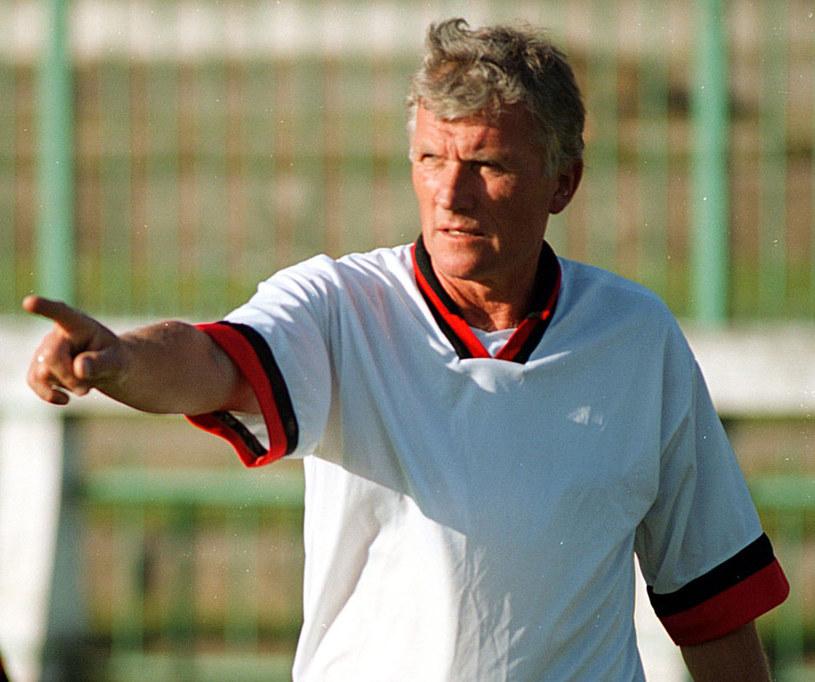 Trener Zdzisław Podedworny / fot. M. Zieliński / SE /East News
