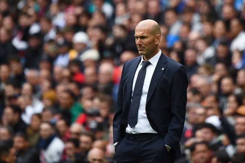 Trener Zinedine Zidane /AFP