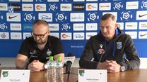 Trenerzy Dariusz Żuraw i Piotr Tworek przed derbami Poznania. Wideo