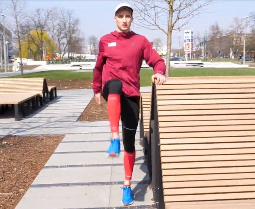 Trenerzy Orlen Warsaw Marathonu prowadzili treningi przed startem /INTERIA.PL