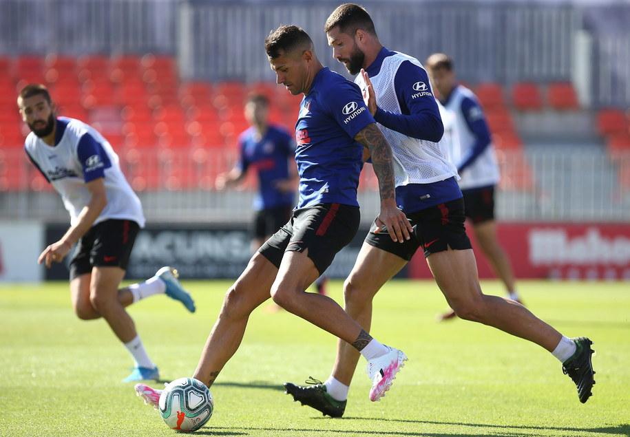 Trening Atletico Madryt /ATLETICO MADRID / HO /PAP/EPA