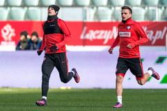 Trening biało-czerwonych przed meczem ze Słowenią