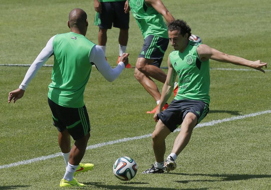 Trening drużyny reprezentacji Meksyku /SERGEY DOLZHENKO /PAP/EPA