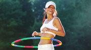 Trening hula hoop