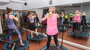 Trening na trampolinach