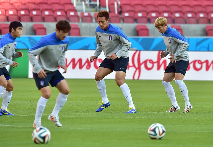 Trening reprezentacji Korei Południowej /AFP