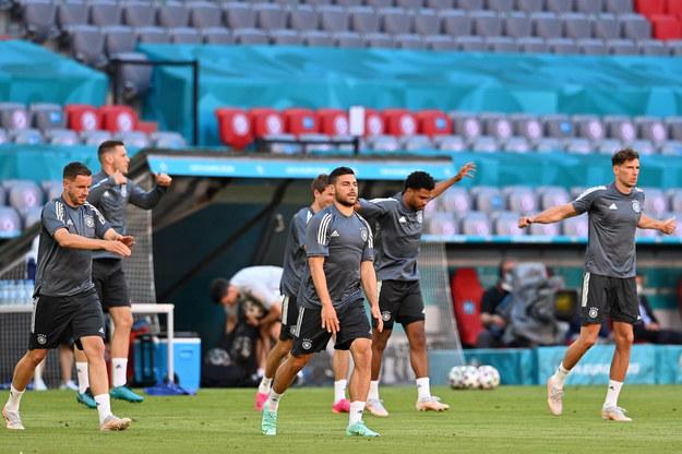 Trening reprezentacji Niemiec przed meczem z Francją /LUKAS BARTH-TUTTAS /PAP/EPA