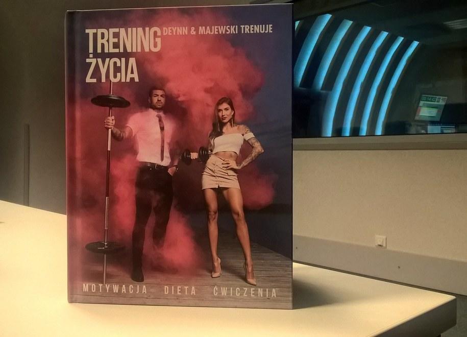 """""""Trening życia"""" książka, która już stała się hitem /Łukasz Łaskawiec /RMF FM"""