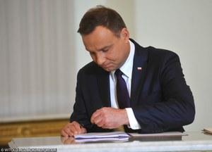 Treść listu prezydenta do marszałka Kuchcińskiego