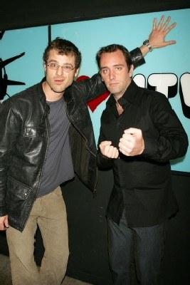 "Trey Parker i Matt Stone, twórcy serialu ""South Park"" /AFP"