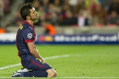 Triumf Bayernu, Barcelona na kolanach