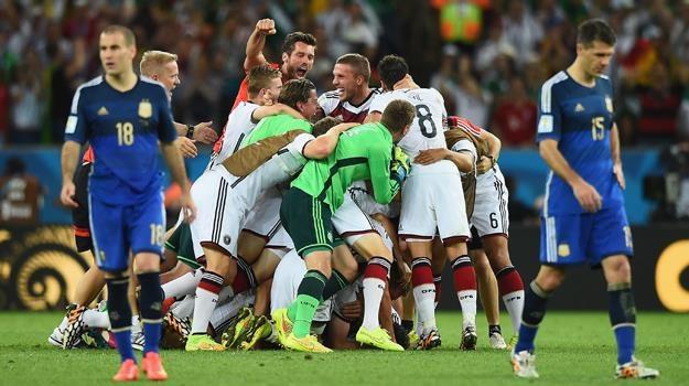Triumf Niemców oglądało w szczytowym momencie w TVP prawie 12 mln Polaków / fot. Laurence Griffiths /Getty Images