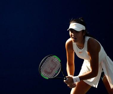 Triumfatorka US Open zaliczyła bolesną lekcję