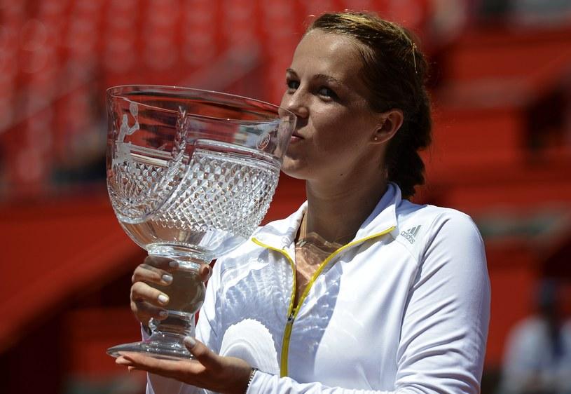 Triumfująca Anastazja Pawliuczenkowa /AFP