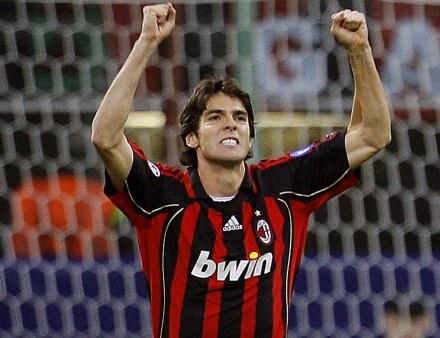 Triumfujący Kaka. Milan-Anderlecht 4:1 /AFP