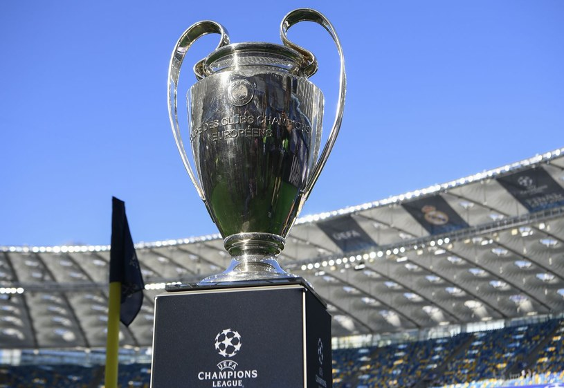 Trofeum Ligi Mistrzów /AFP