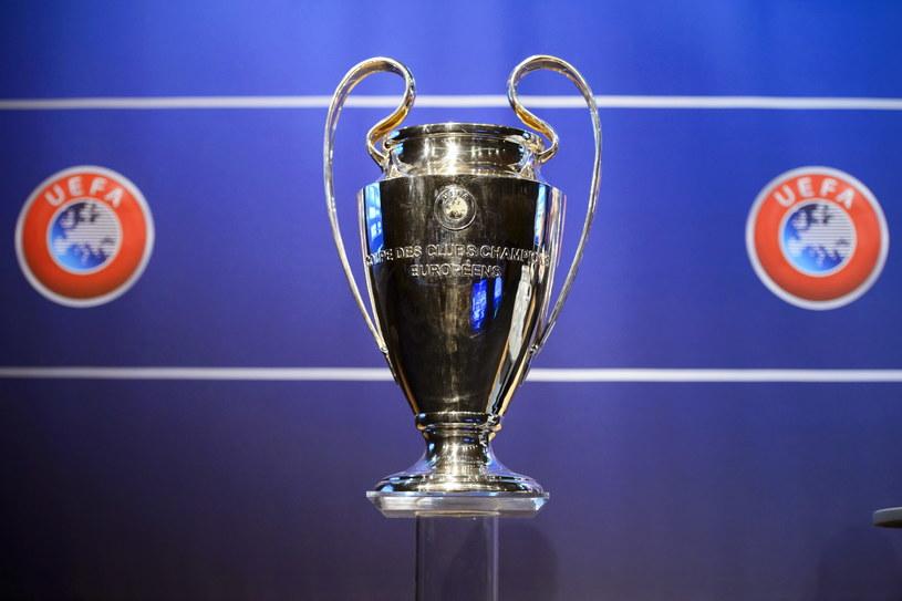 Trofeum Ligi Mistrzów /PAP/EPA