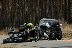 Troje motocyklistów zginęło w wypadku koło Bydgoszczy