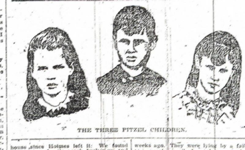Trójka dzieci Pitzelów - ostatnie ofiary Holmesa /materiały prasowe
