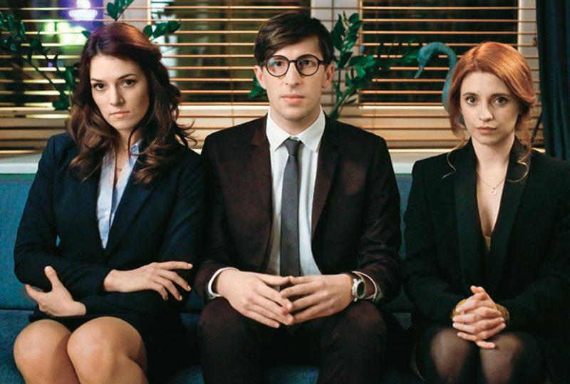 Trójka młodych adwokatów (Anna Maria Jarosik, Mateusz Bieryt i Karolina Bacia) zasilą szeregi kancelarii /Świat Seriali
