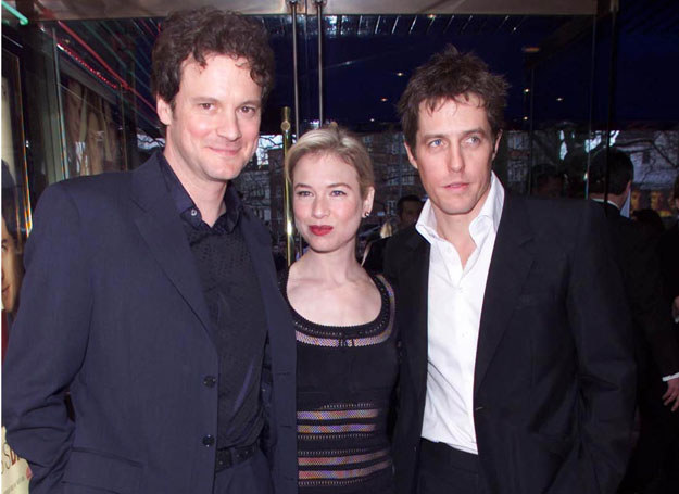 "Trójkąt z ""Dziennika Bridget Jones""  /Getty Images/Flash Press Media"