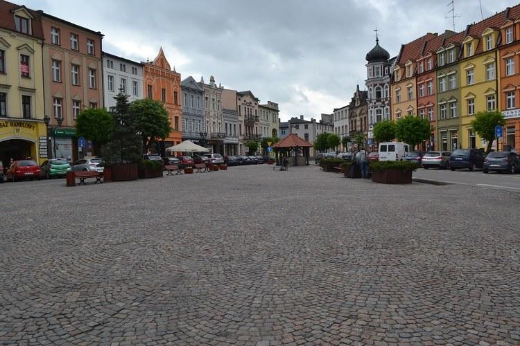Trójkątny rynek w Brodnicy /Paweł Balinowski /RMF FM